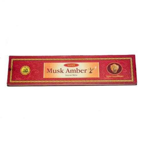 indické vonné tyčinky musk amber