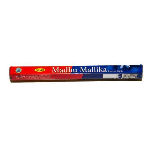 indické vonné tyčinky madhu malika