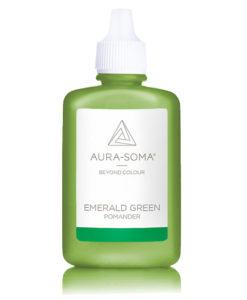 aura-soma smaragdový pomander