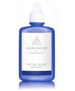aura-soma pomander královská modř