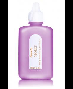 aura-soma fialový pomander