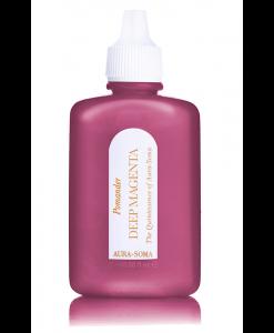 aura-soma purpurový pomander