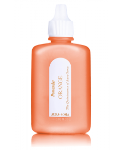aura-soma oranžový pomander