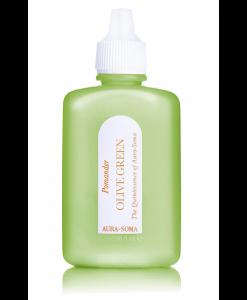 aura-soma olivový pomander