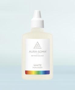 aura-soma bílý pomander