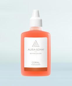 aura-soma korálový pomander