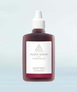 aura-soma rubínový pomander