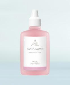 aura-soma růžový pomander