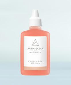 aura-soma světle korálový pomander