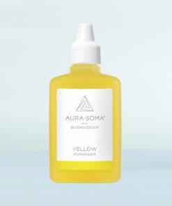 aura-soma žlutý pomander