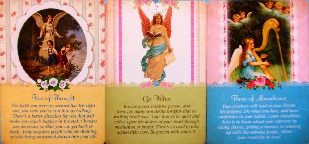 karetní výklad Andělů strážných