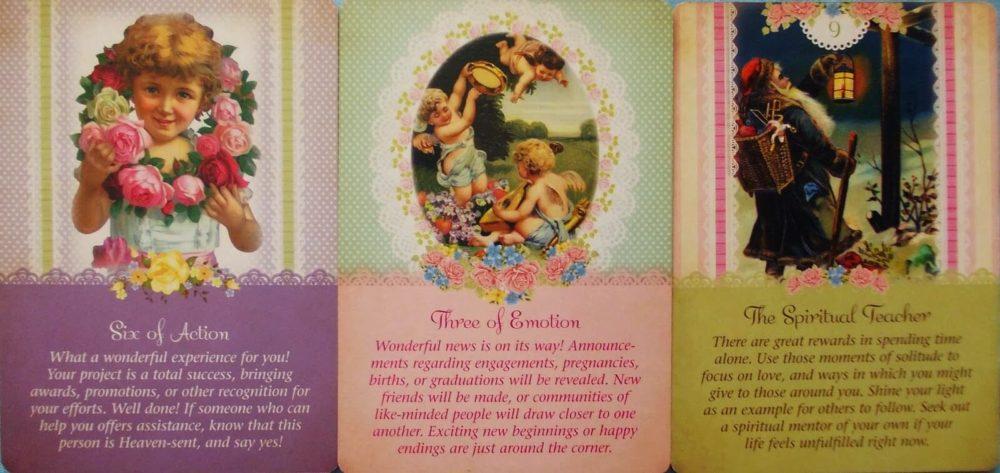 výklad karet andělů strážných