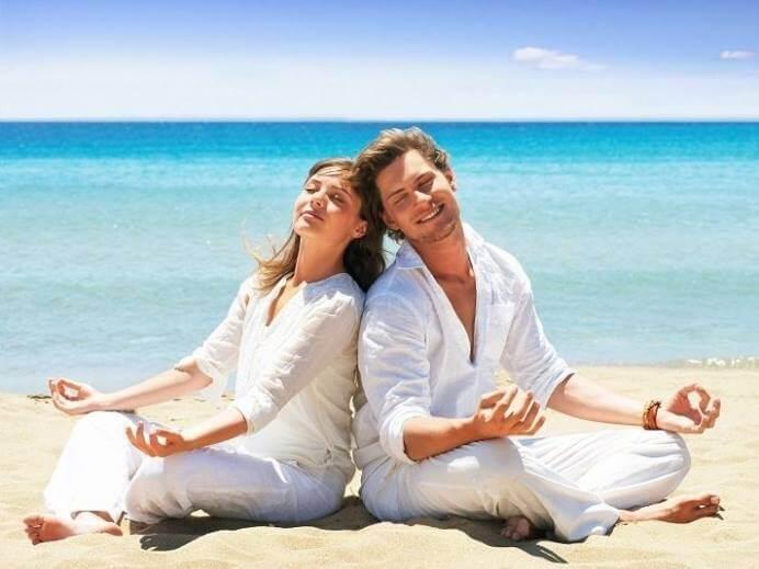 muž a žena v rovnováze