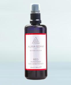 Pomanderový osvěžovač červený