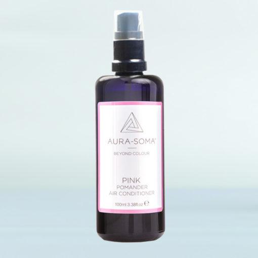 Pomanderový osvěžovač růžový