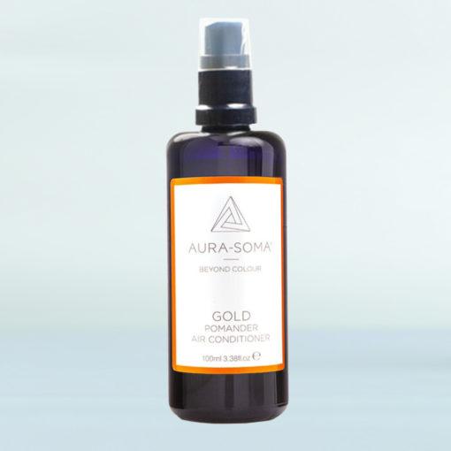 Pomanderový osvěžovač zlatý
