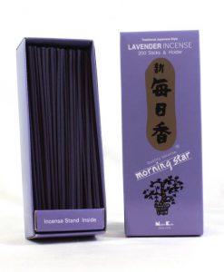 Japonské vonné tyčinky Nippon M/S 200 ks Lavender