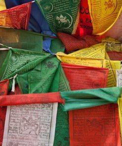 Tibetské modlitební praporky