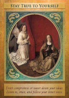 karetní výklad Doreen Virtue