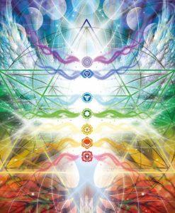Karty vědomé duše, kniha a 44 karet