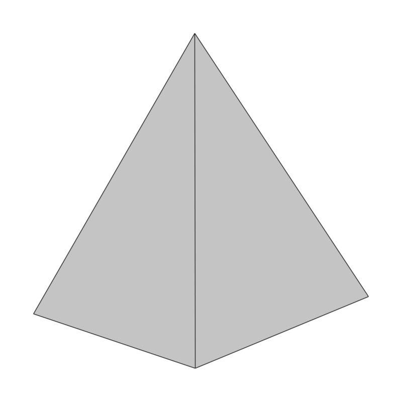 čtyřstěn tetrahedron